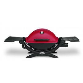 Churrasqueira Weber Gás Q 1200 Vermelha c Kit