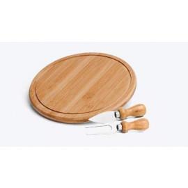Conjunto para Queijo em Bambu 3 Peças Welf
