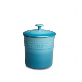 Porta Mantimentos Pequeno Le Creuset Azul Caribe