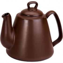 Bule Tropeiro Ceraflame Cerâmica 1,3 litros  Chocolate