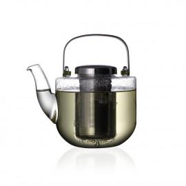 Bule para Chá em Vidro com Infusor Bjorn 650ml 10x15x15 cm Viva Scandinavia