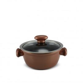 Caçarola Ceraflame de Cerâmica do Chef  18cm 1300ml Cobre