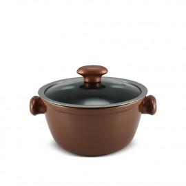 Caçarola Ceraflame de Cerâmica do Chef  22cm 3000ml Cobre
