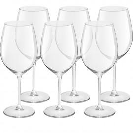 Conjunto de Taças Para Vinho Royal Leerdam Magnum 6 Peças 400ml