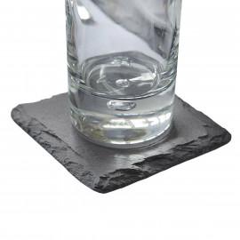 Jogo de Porta Copos de Pedra Natural VAIK ® Roccia 6 Peças