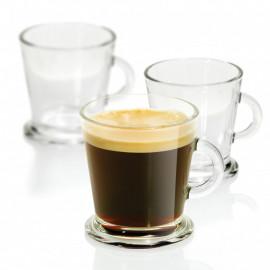 Xícara de Café Crisa Acapulco em Vidro 180ml