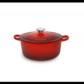 Panela Redonda 18cm Signature Vermelho Le Creuset