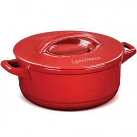 Panela Caçarola Ceraflame Duo+ em Cerâmica Vermelho Pomodoro 28cm 6 Litros