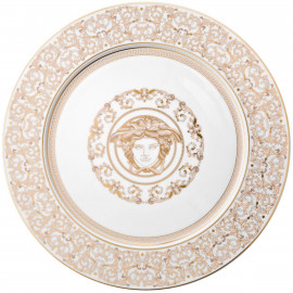Sousplat de Porcelana Versace Medusa Gala 33cm 6 peças