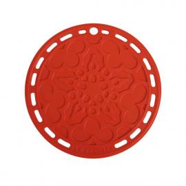 Suporte de Silicone Mandala Vermelho Le Creuset