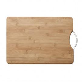 Tábua de Corte Bambu Para Cozinha Com Alça Maxwell Williams 38x28x2cm