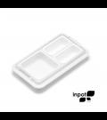 Organizador de Alimentos Inpot Branco 2M1G