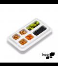 Organizador de Alimentos Inpot Branco 4P2M