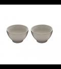 Conjunto 2 Bowls Porcelana Branco Bon Gourmet 13cm