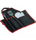 Kit de Churrasco com 5 peças e Bolsa para Guardar Bon Gourmet