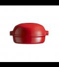 Forma Red com Tampa para Gratinar Vermelho Emile Henry, 19,5 x 17,5 cm