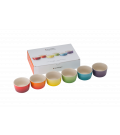 Set de 6 Mini Ramekin Gift Collection