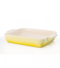 Travessa Retangular Amarelo Soleil 26cm Le Creuset