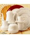 Conjunto de Xícara de Café Royal Limoges Ocean Porcelana 6 Lugares