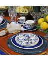 Xícara de Café Com Pires Classic Blue Porto Brasil 6 Lugares 94ml