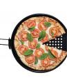 Assadeira De Pizza Para Churrasqueira 33 cm