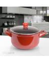 Caçarola Vermelha Ceraflame de Cerâmica Duo 20cm
