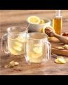 Jogo com 2 canecas de vidro de parede dupla para Latte 450 ml ZWILLING Sorrento