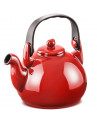 Chaleira de Cerâmica Ceraflame Colonial Vermelha 1,7 Litro