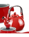 Chaleira de Cerâmica Ceraflame Colonial Vermelha