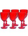 Taça de Vidro Vermelho Country 420ml
