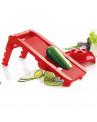 Mandoline Mastrad Multi Lâminas em ABS e Inox 25x10x10cm Vermelho