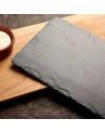 Pedra Natural Para Servir Queijos e Aperitivos VAIK® Roccia 50x25cm