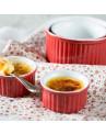 Ramekin Vermelho em Cerâmica