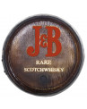 Tampa de Barril Decorativa Pequena J&B Scotchwhisky 26cm