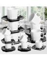 Jogo de xícaras de Chá Cerâmica Scalla