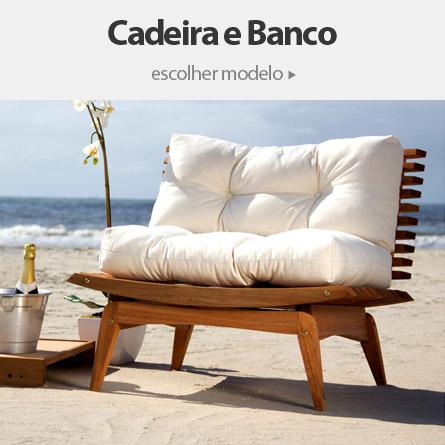 Cadeira e Banco Área Externa em Oferta